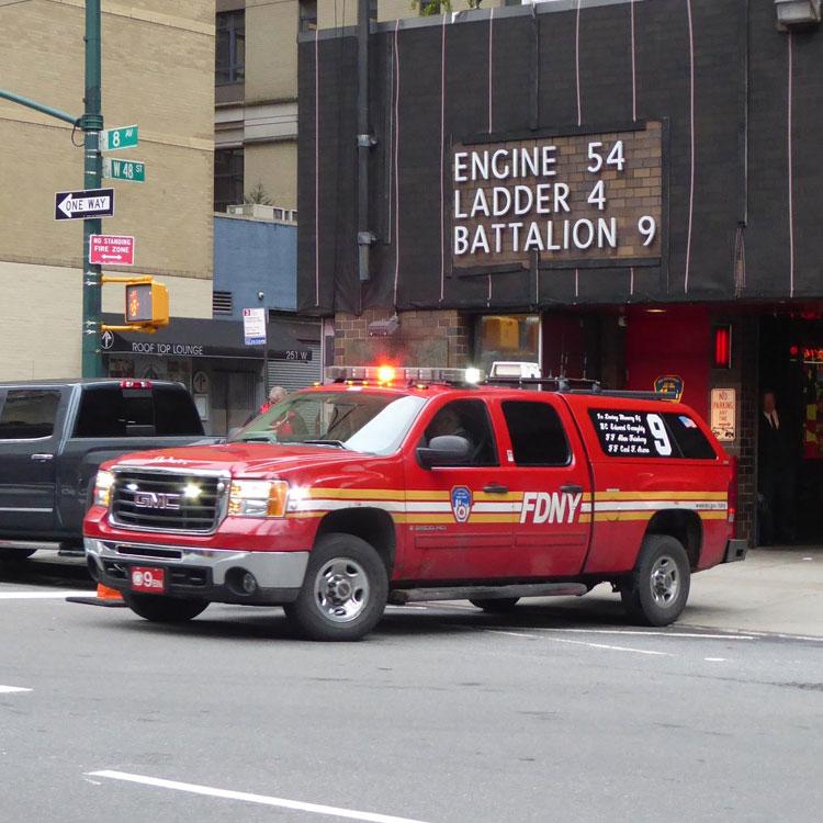 Engine 54 Ladder 4 Batallion 9