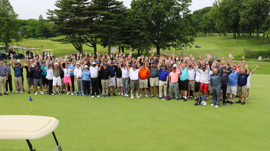 Ray Pfeifer Foundation Golf Classic Group Photo