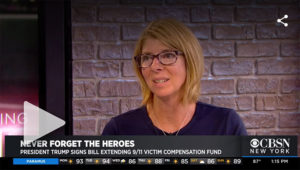 Ray Pfeifer's Sister Talks About Signing Of 9/11 Victim Compensation Bill July 2019