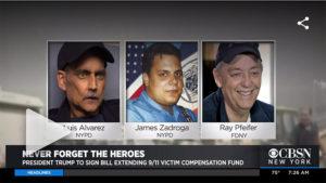 President Trump Set To Sign 9/11 Victim Fund Bill