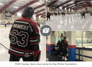 FDNY hockey event raises money for charity